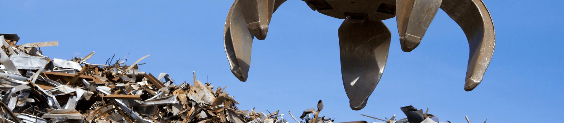 Вывоз железа и металлолома на утилизацию