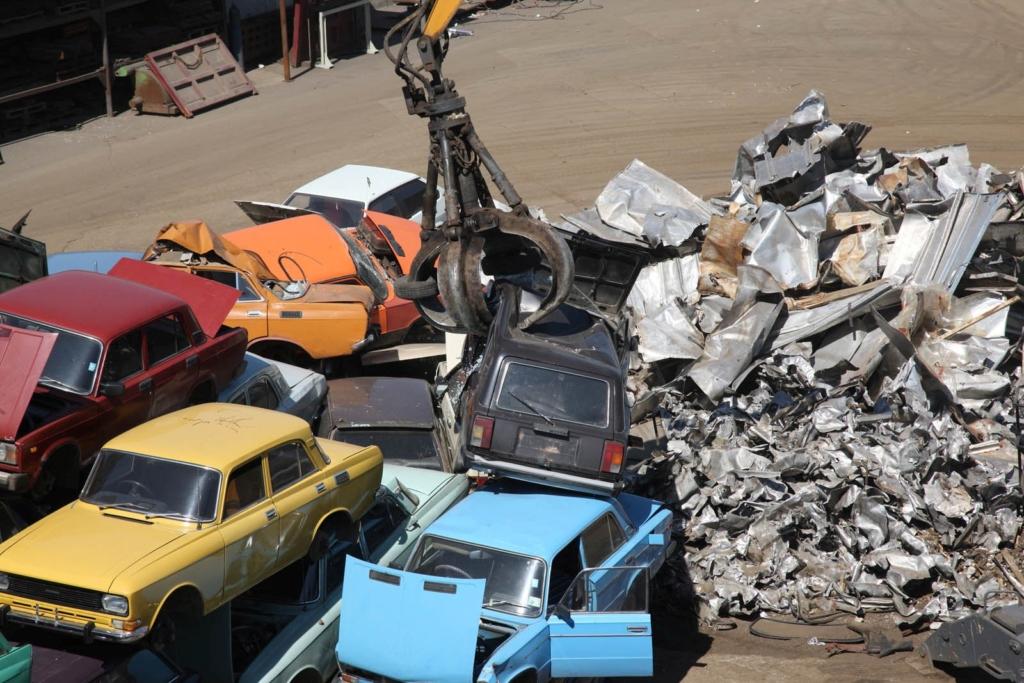 Приём и утилизация авто на металлолом