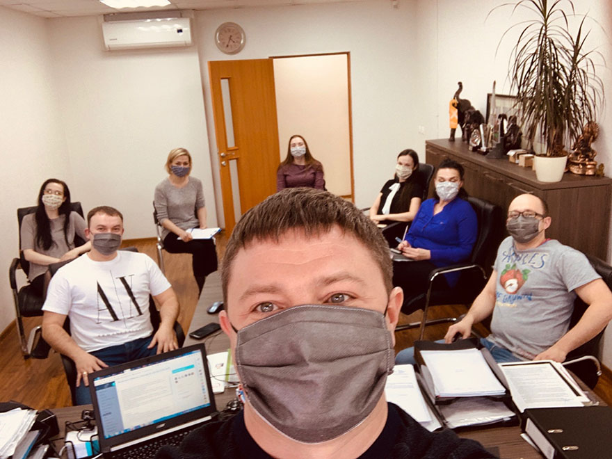 Согласовали работу во время эпидемии коронавируса (Covid-19)
