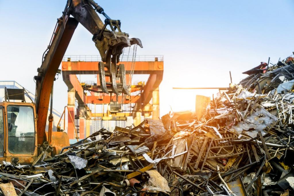Утилизация и переработка лома цветных и черных металлов