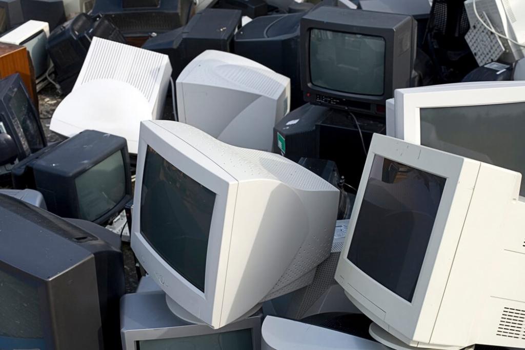 Утилизация, переработка и обработка мониторов ЭЛТ