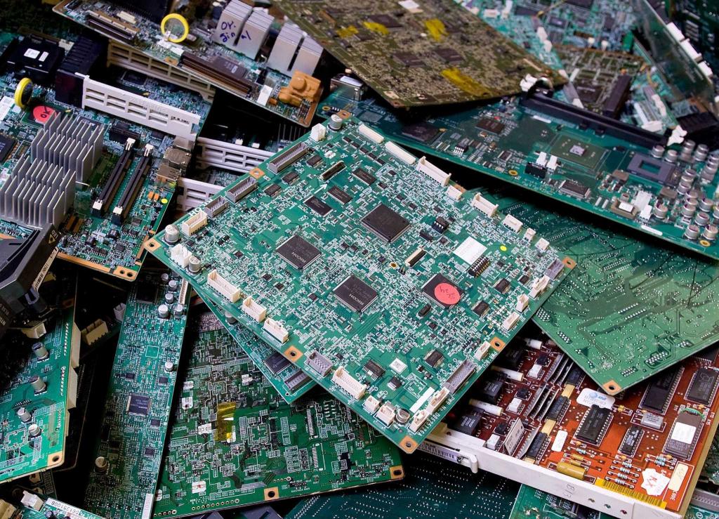Услуги по переработке и утилизации электронного лома
