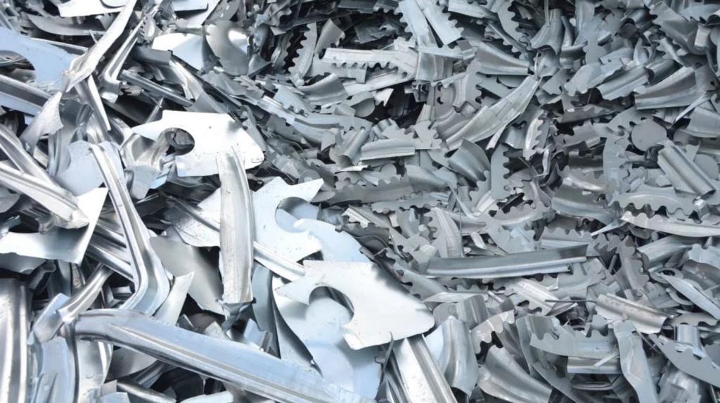 Услуги по утилизации и переработке алюминия и алюминиевого лома